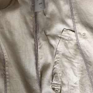 Marks & Spencer Jackets & Coats - Linen trench coat flax colored